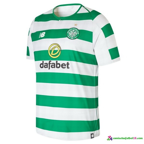 Camiseta 1ª Kit Celtic 2018 2019 Verde